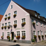 Foto des Hotels Goldene Rose in Noerdlingen