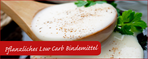 Guarkernmehl als Low Carb Bindemittel